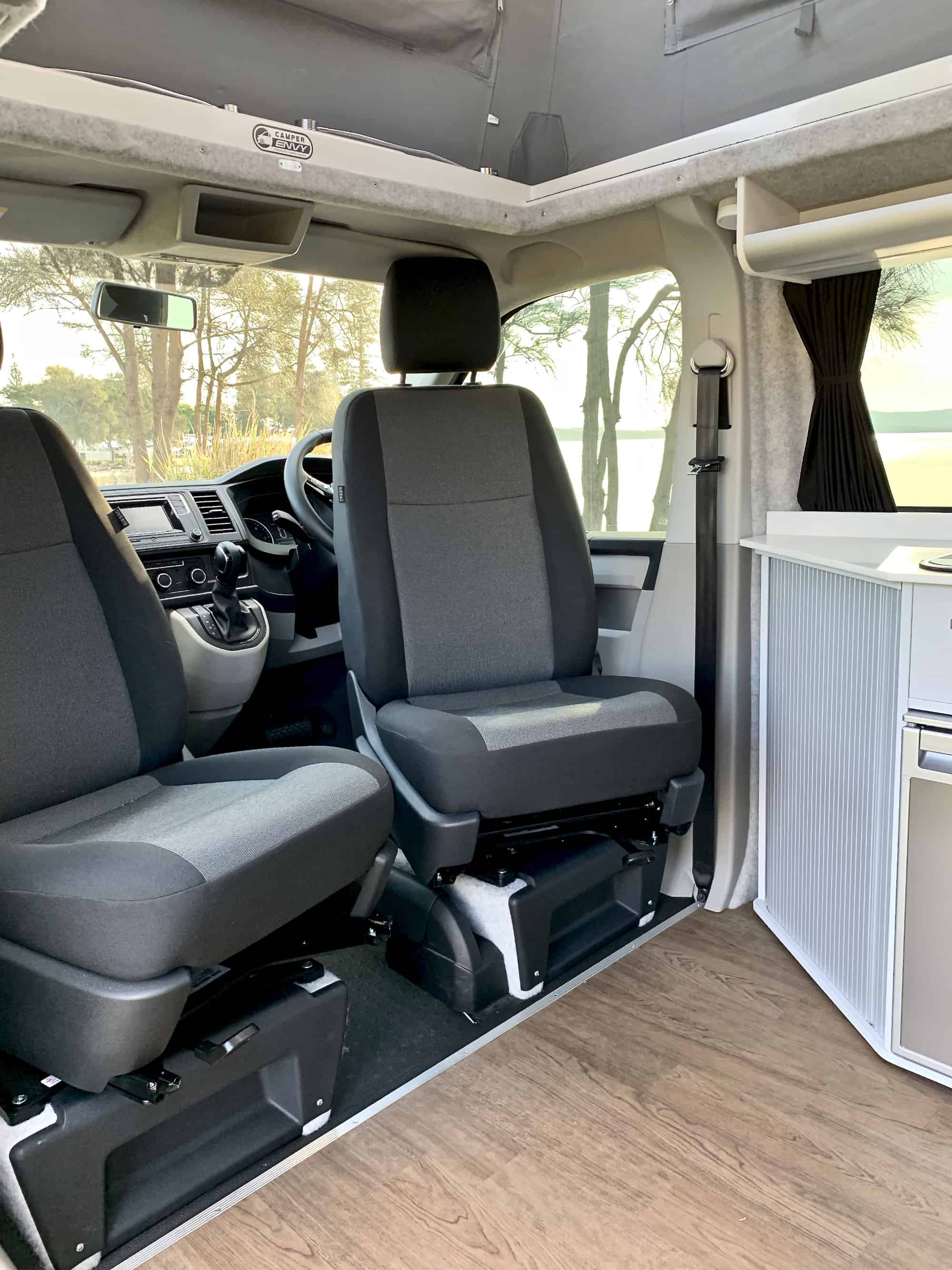 Quot Vinnie Quot Mike And Katie S Conversion Camper Envy